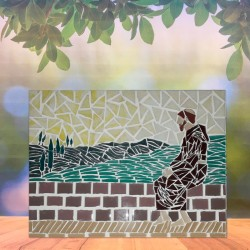 Mosaico Francisco em Assis