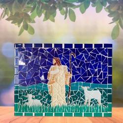 Mosaico Grande Jesus Bom...