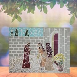 Mosaico Grande Clara e...