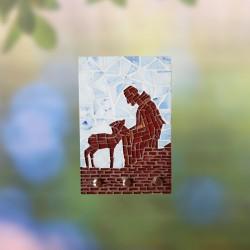 Mosaico Porta-chaves...